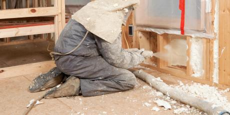 spray foam insulation application Yankee Thermal Imaging