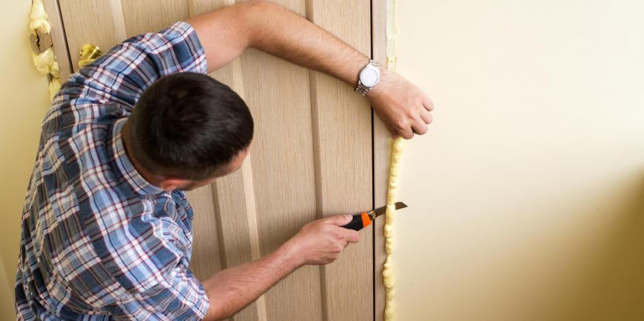 foam insulation door frame