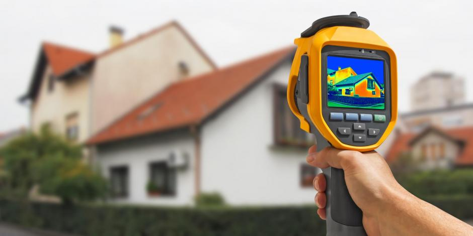 house infrared camera image