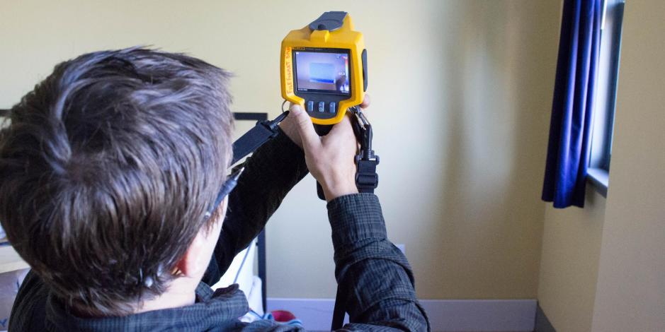 infrared energy audit Yankee Thermal Imaging
